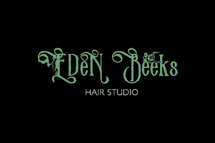 hair studio EDeN Beeksロゴ
