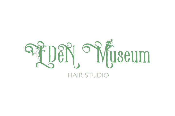 hair studio EDeN Museumロゴ